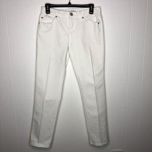 Ann Taylor boyfriend semi distressed jeans sz 0/25
